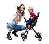 GHDE& Buggy Kinderwagen Leicht Kinder Dreirad mit...