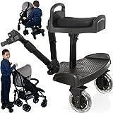 Buggyboard + Zusatzsitz (SET) für Kinderwagen...