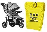 Reisetasche für Kinderwagen Größe zu 100x60x40...