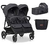 Kinderwagen Zwillinge Mit Baby Tragetasche -...
