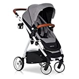 easyGO Buggy Sport Kinderwagen OPTIMO Grey Fox mit...