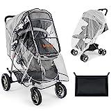 besrey universal Kinderwagen Regenschutz für Baby...