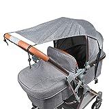 Sonnensegel für Kinderwagen Babywanne TBoonor...