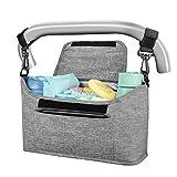 Yoofoss Kinderwagen Organizer Kinderwagentasche...